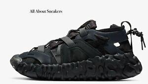 Nike-ISPA-esagerare-034-Nero-Thunder-Grigio-034-Uomo-Scarpe-da-ginnastica-LIMITED-STOCK-Tutte-le