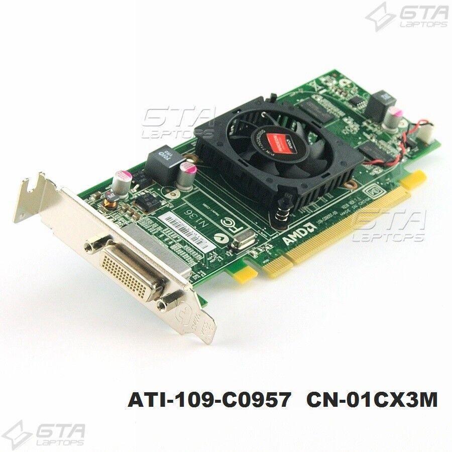 ATI-109-C0957 AMD Radeon HD6350 512MB DMS-59 Video Card Low Profile CN-01CX3M