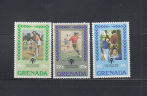 Grenada-1979-Cricket-IYC-Sc-917-919-Complete-Mint-Never-Hinged