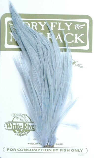 Dry Fly Saddle Hackle Variety Sets ALL SIZE # 20 Feathers For Fly Tying-NEW