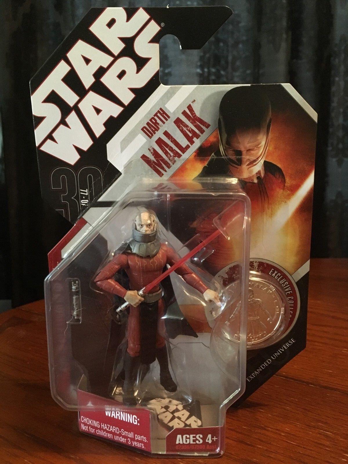 Star Wars 30th Anniversary 3.75  Darth Malak  35 Expanded Universe New Mint