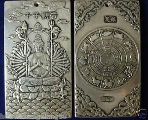 old-tibetan-tibet-silver-guan-kwan-yin-buddha-dragon-statue-nepal-thangka