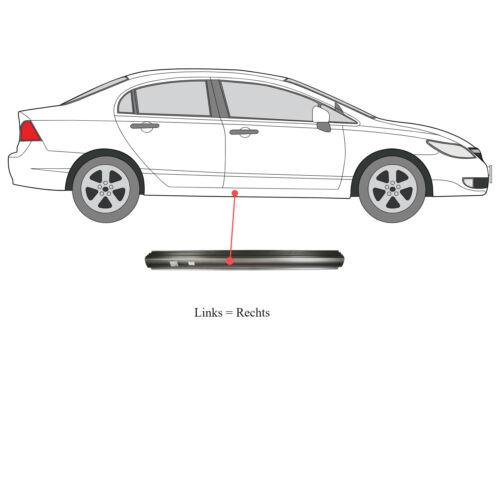 Reparación de chapa traviesas izquierda o derecha Chevrolet Nubira