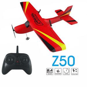 2-4G-Red-RC-Plane-Airplane-Radio-Remote-Control-Glider-Foam-Aircraft-Model-Toys