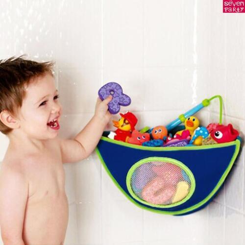 Baby Kids Bath Toy Tidy Net Organiser Storage Bag Play boxes holder new