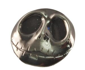 "NEW Nightmare Before Christmas Jack .75"" Pewter Pin B4 Disney Button B4 Metal"