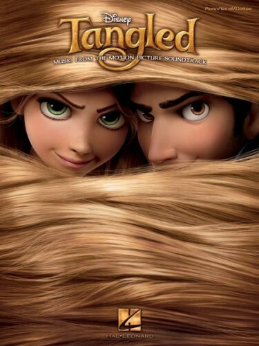 Tangled Sheet Music from Movie Soundtrack Piano Vocal Guitar SongBook  000313524