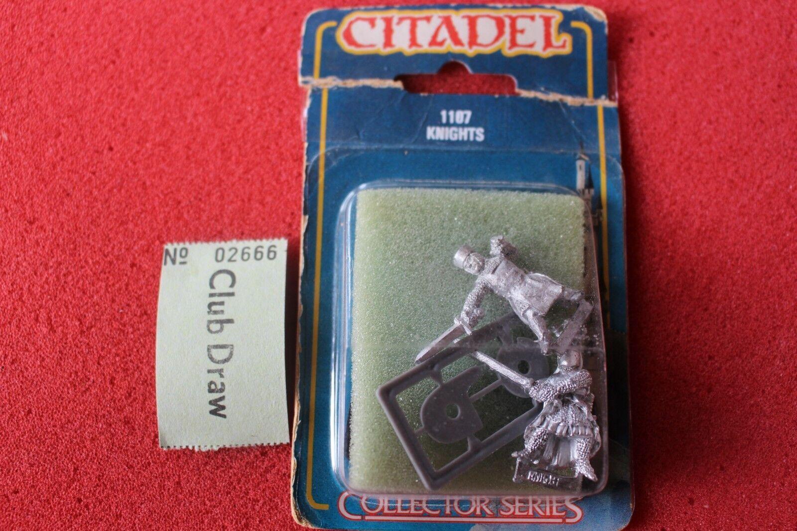 Citadel Collectors Series Knights Games Workshop Metal Figures New Bretonnians