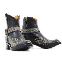 L1649-1 Old Gringo Mexicana Black Casty Stud Strap 7 Boots
