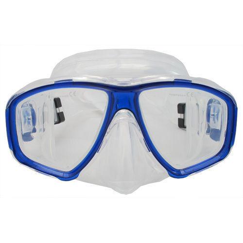 Scuba blueee Dive Mask FARSIGHTED Prescription RX Optical FULL Lenses