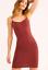 Details about  /NEW Free People Intimately Seamless Mini Slip Dress Chocolate Sz XS//S-M//L $30