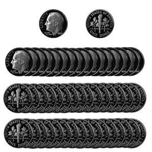 1985 S Roosevelt Dime Gem Deep Cameo CN Clad PROOF US Mint Coin Beautiful!