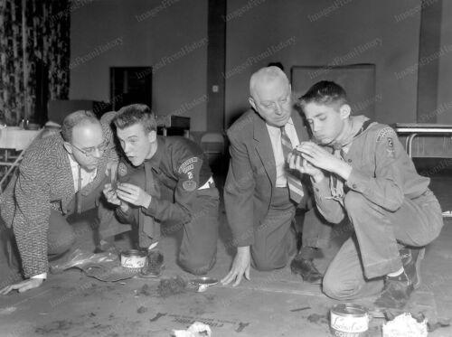 8x10 Print Children Series Boy Scouts Demonstration Parsons Kansas #8568