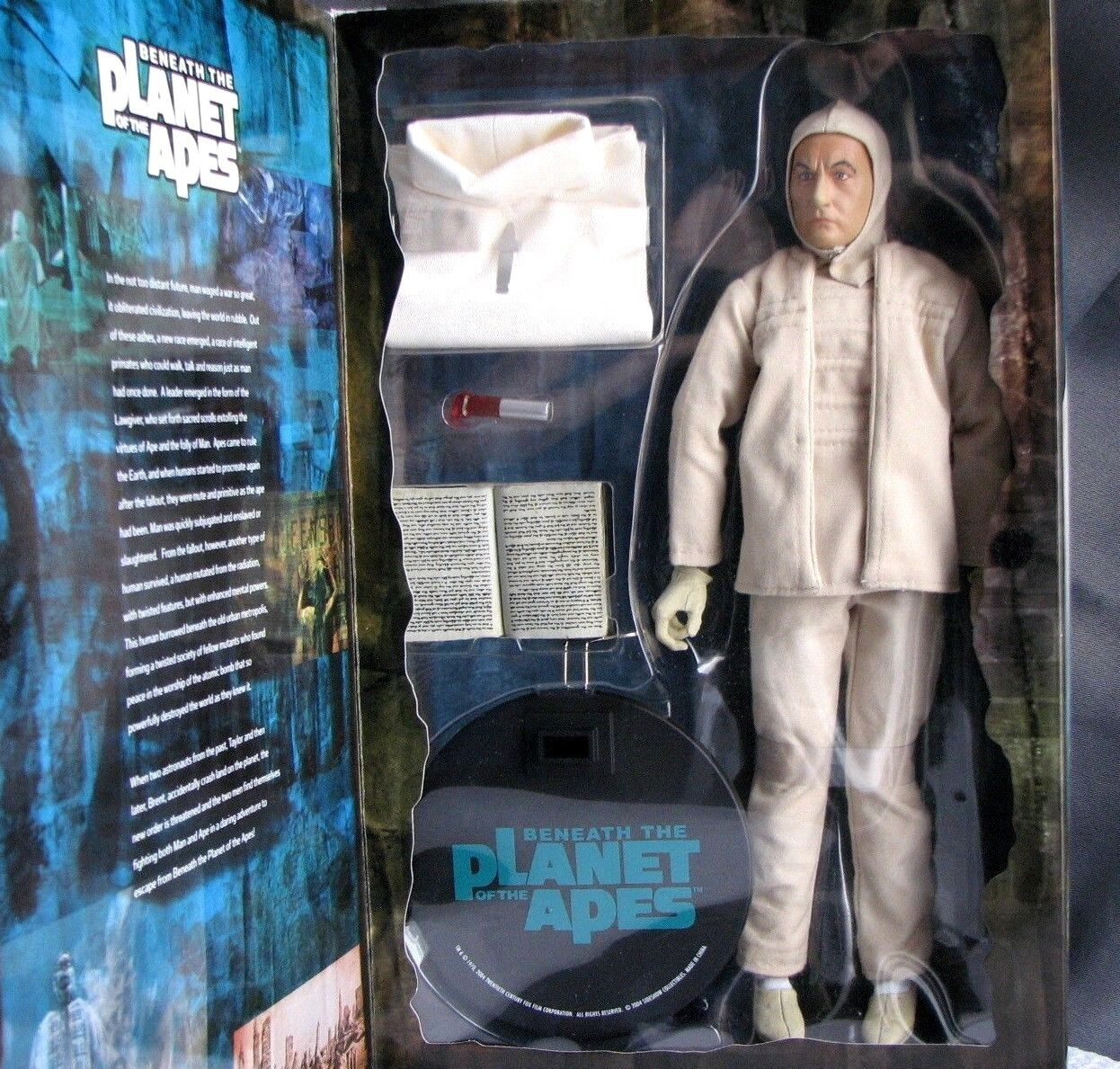 Sidemostrare Planet of the Apes Mutant Leader 16 Scale 12 azione cifra