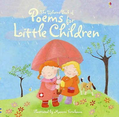 1 of 1 - new the usborne book of Poems for Little Children KS1 piicture poetry book