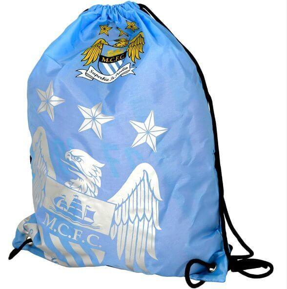 4c47033174 Manchester City FC (fp) Football School Sports Gym PE Kit Drawstring Swim  Bag for sale online