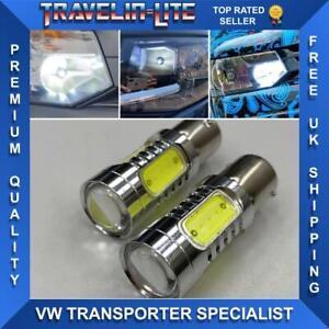 VW-T5-Bombillas-Actualizacion-De-Faros-DRL-LED-Super-Brillante-Transporter-2010-2015