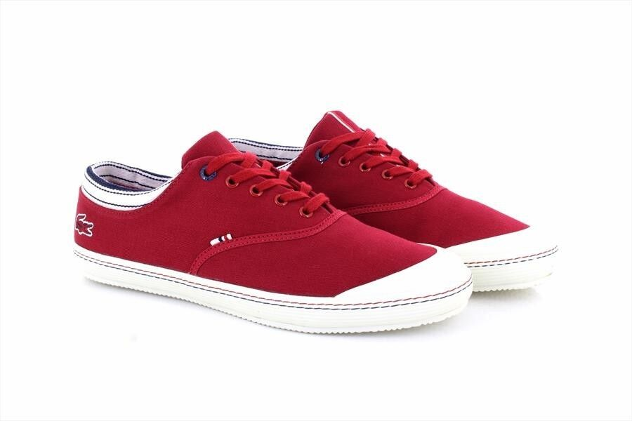 Lacoste Ortholite Rene II 2 Mesh Piqué shoes Sportive men red