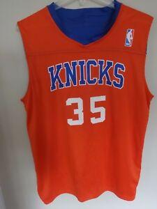 best service c3b38 feda9 Vintage New York Knicks Reversible Practice Jersey # 35 Men ...