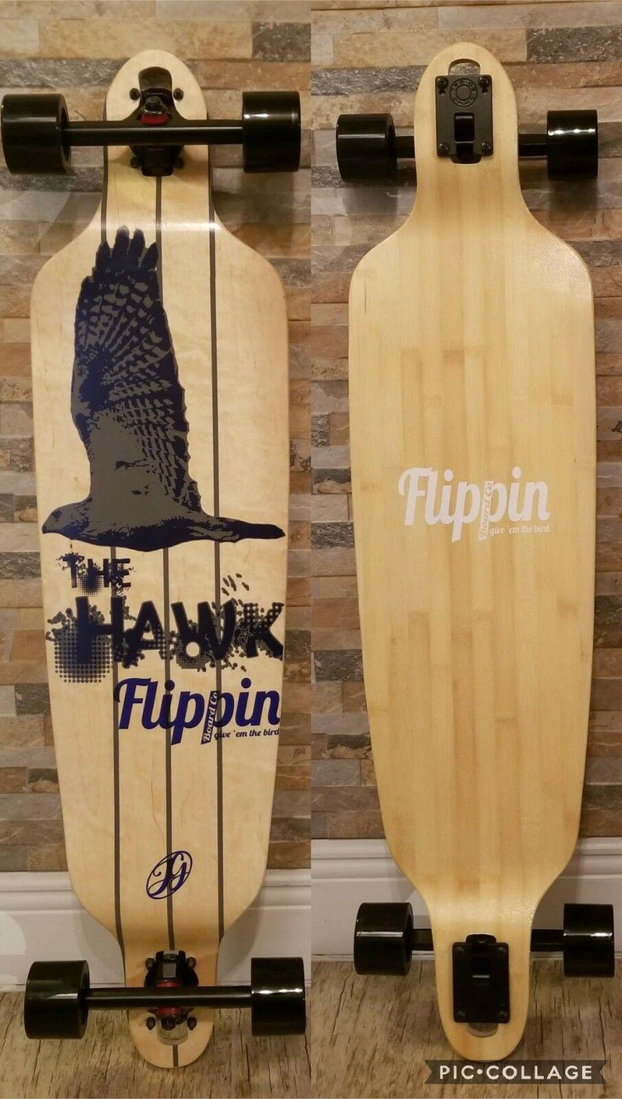 Brand New Flippinboard co Drop down through Longboard complete the Hawk
