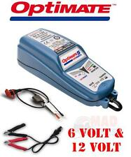 OPTIMATE  6V AND 12V CLASSIC CAR INTELLIGENT FULLY AUTOMATIC BATTERY CHARGER