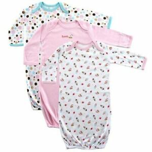 Luvable-Friends-Girl-Sleep-Gowns-3-Pack-Pink-Cake