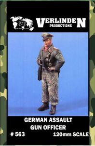 Verlinden-120mm-German-Assault-Gun-Officer-Resin-Figure-Model-Kit-563
