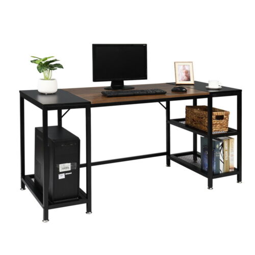 Details about  /59 inch Large Computer Desk Gaming Laptop Table Workstation Home Office PC Table