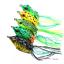 5x-de-haute-qualite-leurres-grenouille-Leurre-Crankbait-Hooks-Bass-Bait-Tackle-Nouveau miniature 10