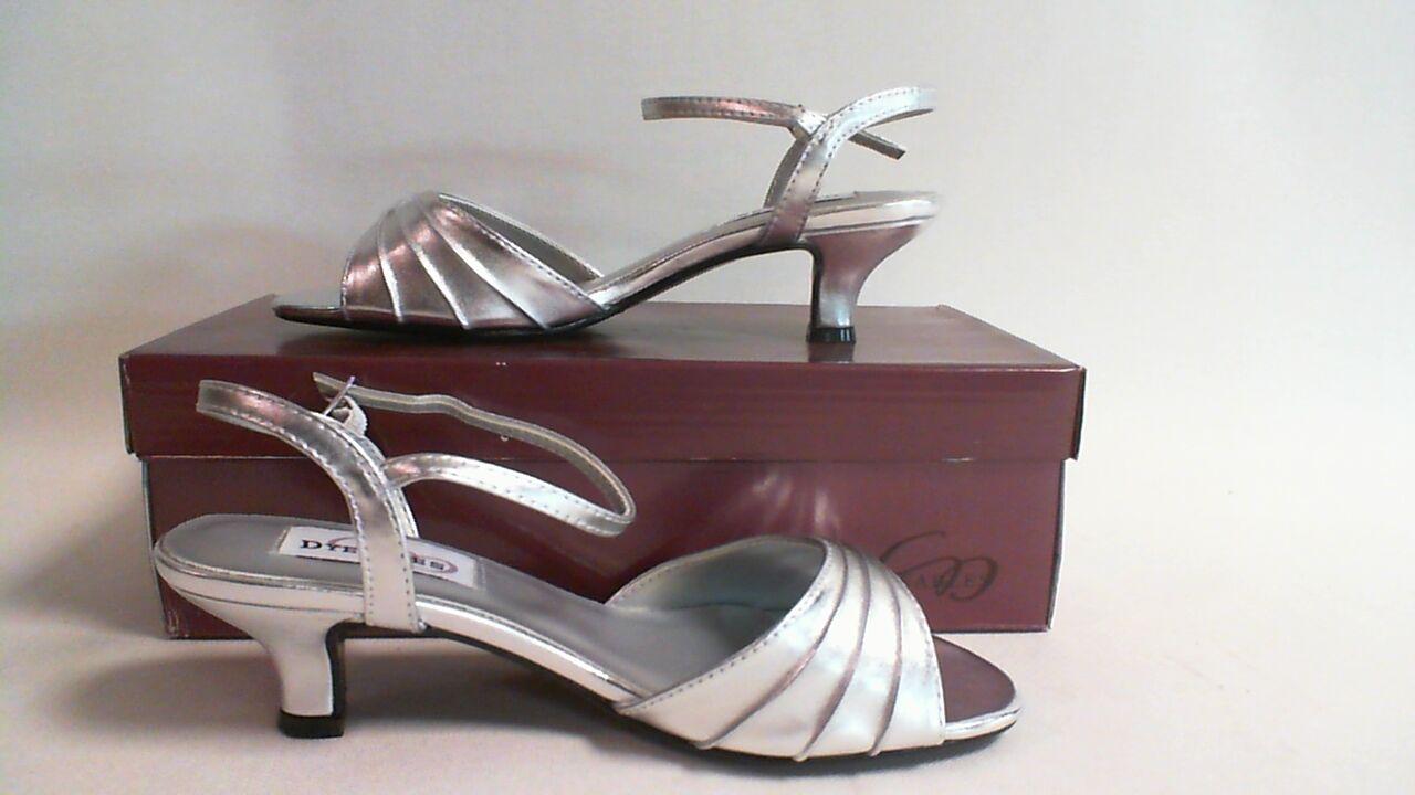 New Dyeables Wedding Shoe- Silver Metallic - Brielle- US 7EE UK 5 XWide #18B289