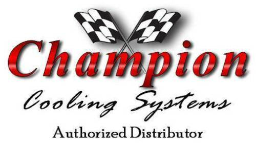 "1967-1972 C//K 10 Pickup Truck Radiator /& 2-14/"" Fans Champion 2 Row Aluminum #369"