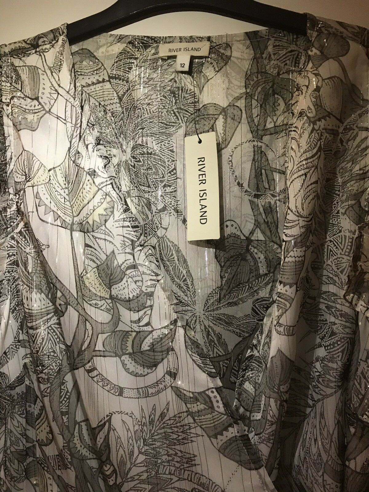 River Island New With Tags Ladies Dress 12