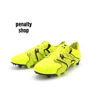 buy popular a1811 c5d9b Image is loading Adidas-X-15-1-FG-AG-Leather-B26979-