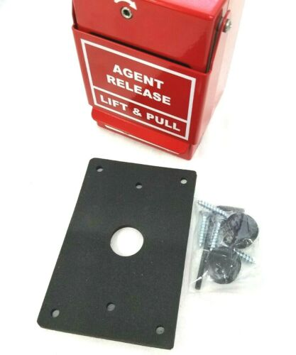 Potter 1000627 Dual Action Safety Pull Station Agent Release Weather Proof