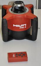 Hilti PRI 2 Rotationslaser PRA 2 mit Koffer Gebraucht aber Top
