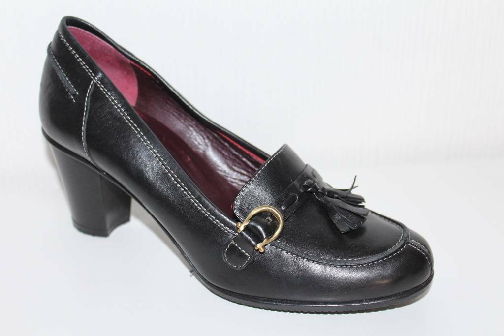 ETIENNE AIGNER SCHUHE BUSINESS College PUMPS Echtleder LEDER BUSINESS SCHUHE HEELS UK4.5 37,5 11c64b