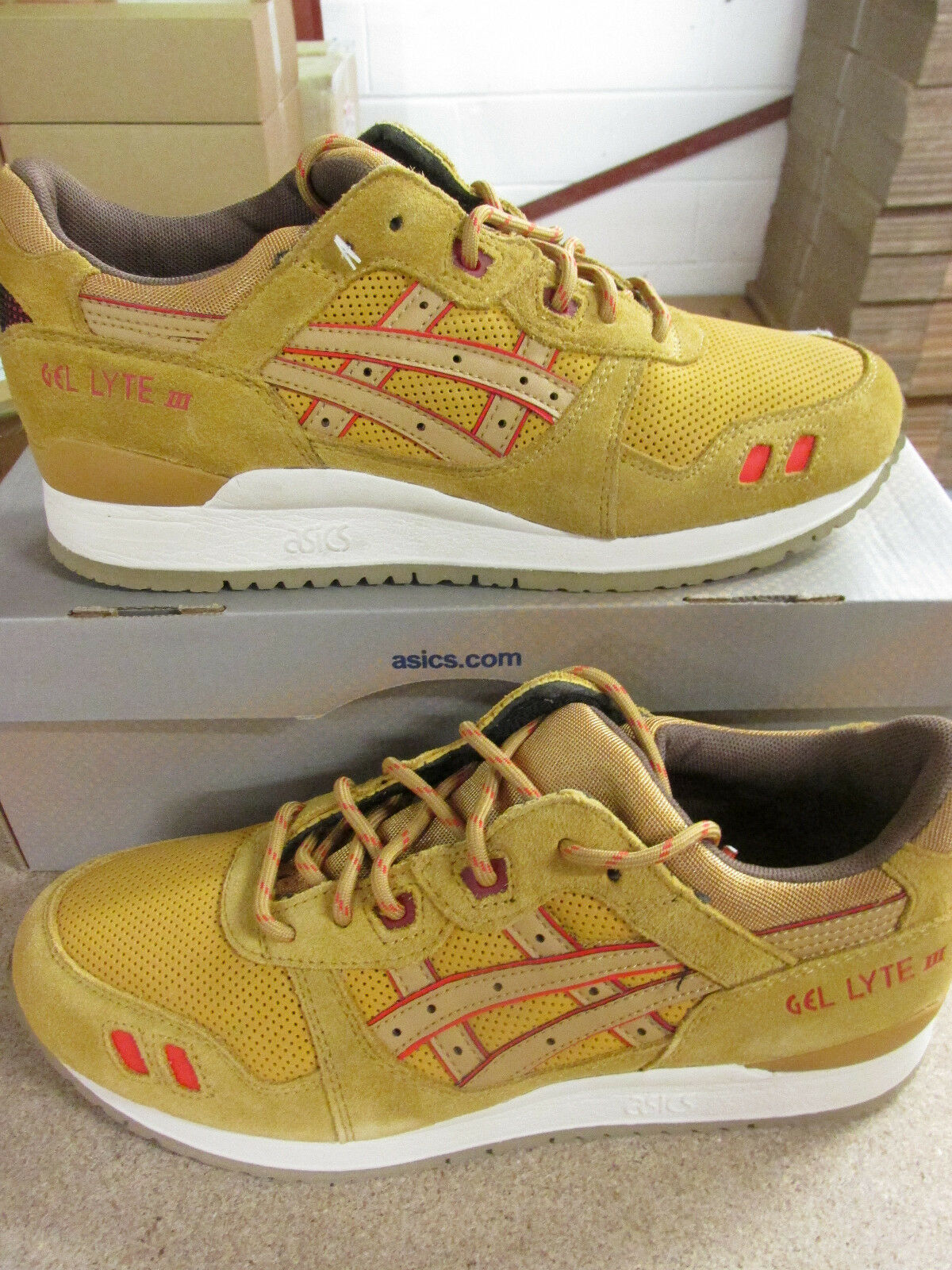 uk availability 6d44d 4270c Asics Gel-Lyte III Hommes 3 Hommes III Baskets H427L 7171 Chaussures  Baskets e3fbfd