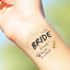 Custom-Bachelorette-Party-Tattoos-Hen-039-s-Night-Temporary-Tattoos-Team-Bride thumbnail 11