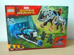 Lego-BLACK-PANTHER-76099-Super-Heroes-Le-combat-dans-la-mine-Collector