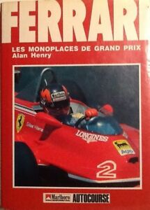 Fan Apparel & Souvenirs Racing-other Reasonable Ferrari Les Monoplaces De Grand Prix,by Alan Henry A Wide Selection Of Colours And Designs