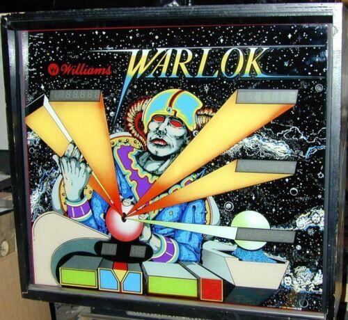 Williams system 7 Warlok pinball cpu rom chip set