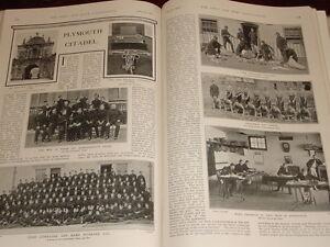1901 Plymouth Citadel Principale Gate Personale NCO E Men Pay Ufficio Abiti Tema