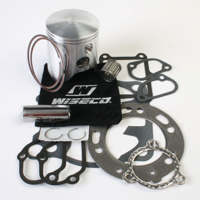 Wiseco PK1248 66.40 mm 2-Stroke Motorcycle Piston Kit with Top-End Gasket Kit