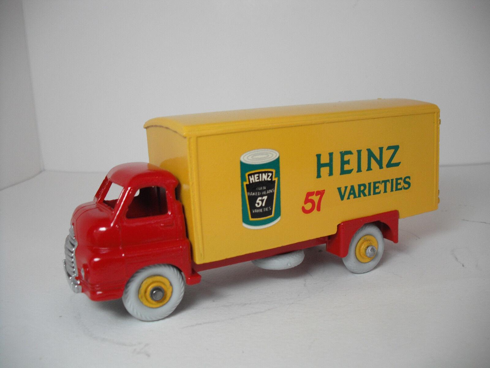 Vintage Dinky Supertoys Meccano. G Big Bedford Heinz 57 van Restaurado