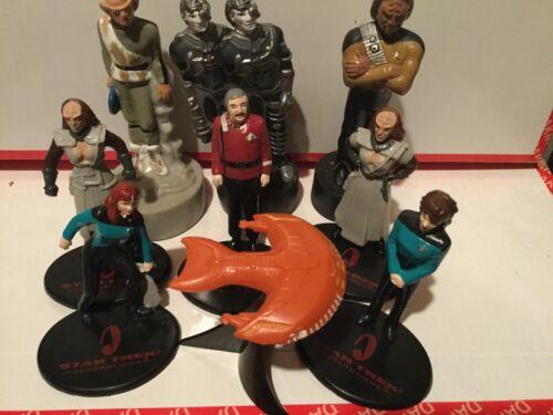 Details about  /9 pcs 1993-94 STAR TREK Original Figures by Paramount Wholesale lot of 10 sets