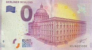 BILLET-0-EURO-BERLINER-SCHLOSS-2-ALLEMAGNE-2017-NUMERO-5000-DERNIER-BILLET