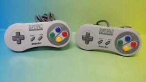 2-Super-Pad-Super-Nintendo-System-SNES-Game-Controller-Super-Nintendo-SNES-Works