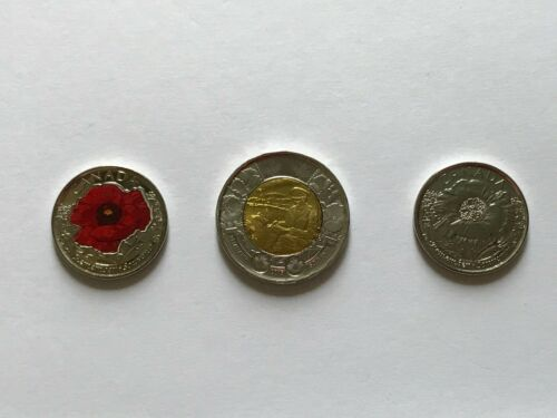 Canada 2015 Remembrance Day Tonnie and Quarters Coin Set