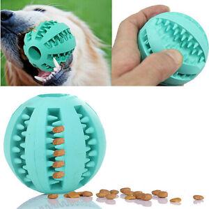 Palla di gomma cane da masticare PET palle giocattoli pulizia del dente WF