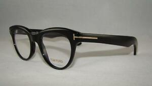 Tom Ford TF 5378 001 Black Unisex Glasses Frames Eyeglasses Size 47 ... bea733bd53